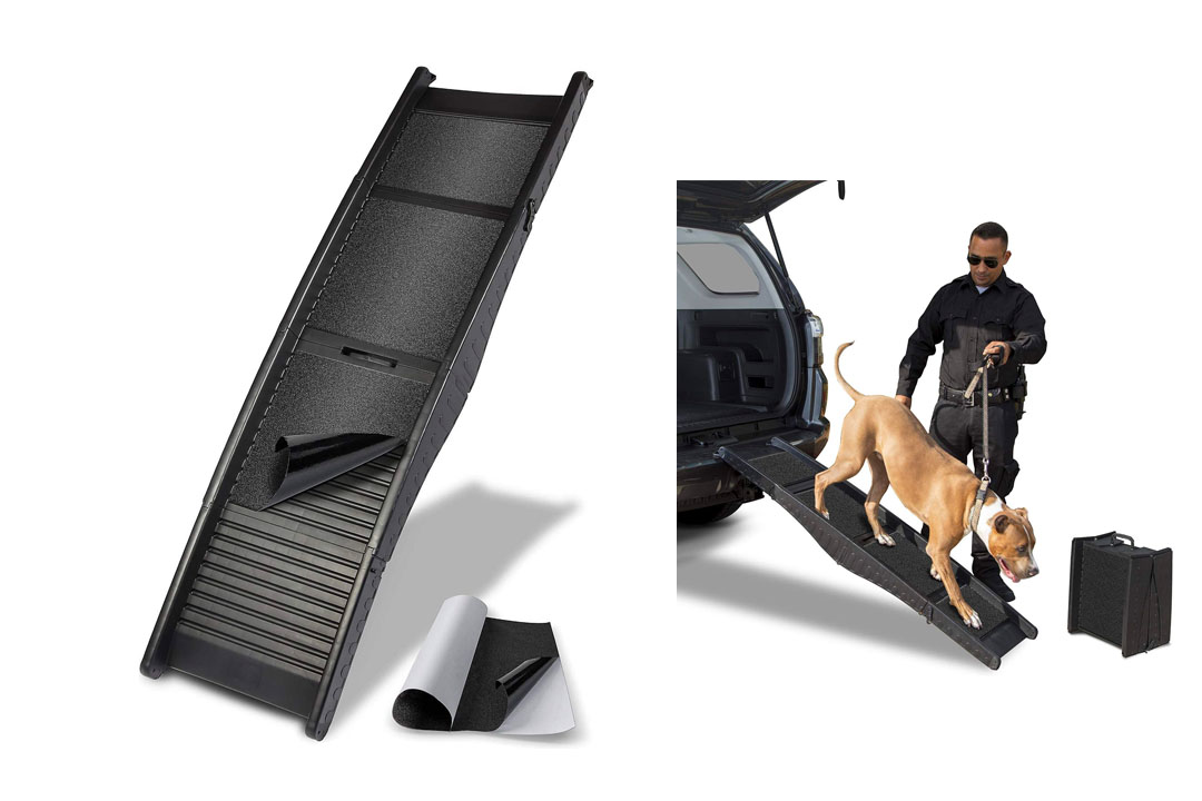 Paws & Pals Auto Dog Ramp Supports up to 150Lbs for Pets