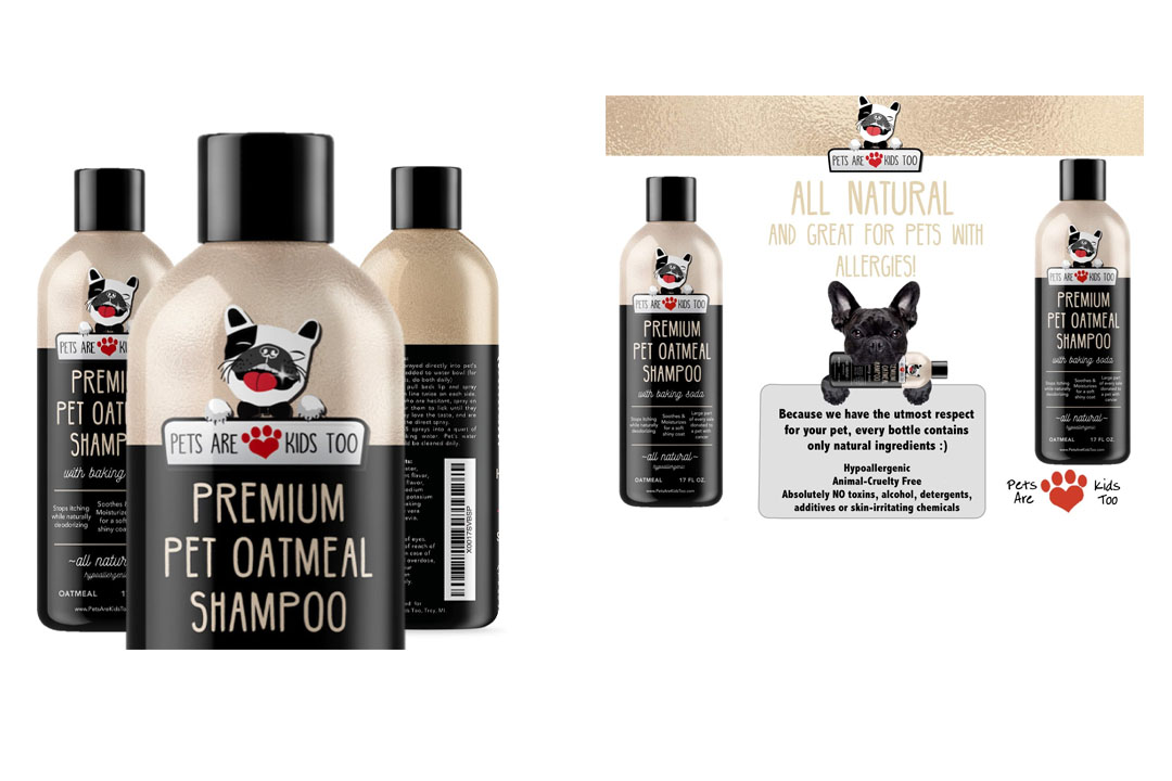 Pet Oatmeal Anti-Itch Shampoo & Conditioner In One!