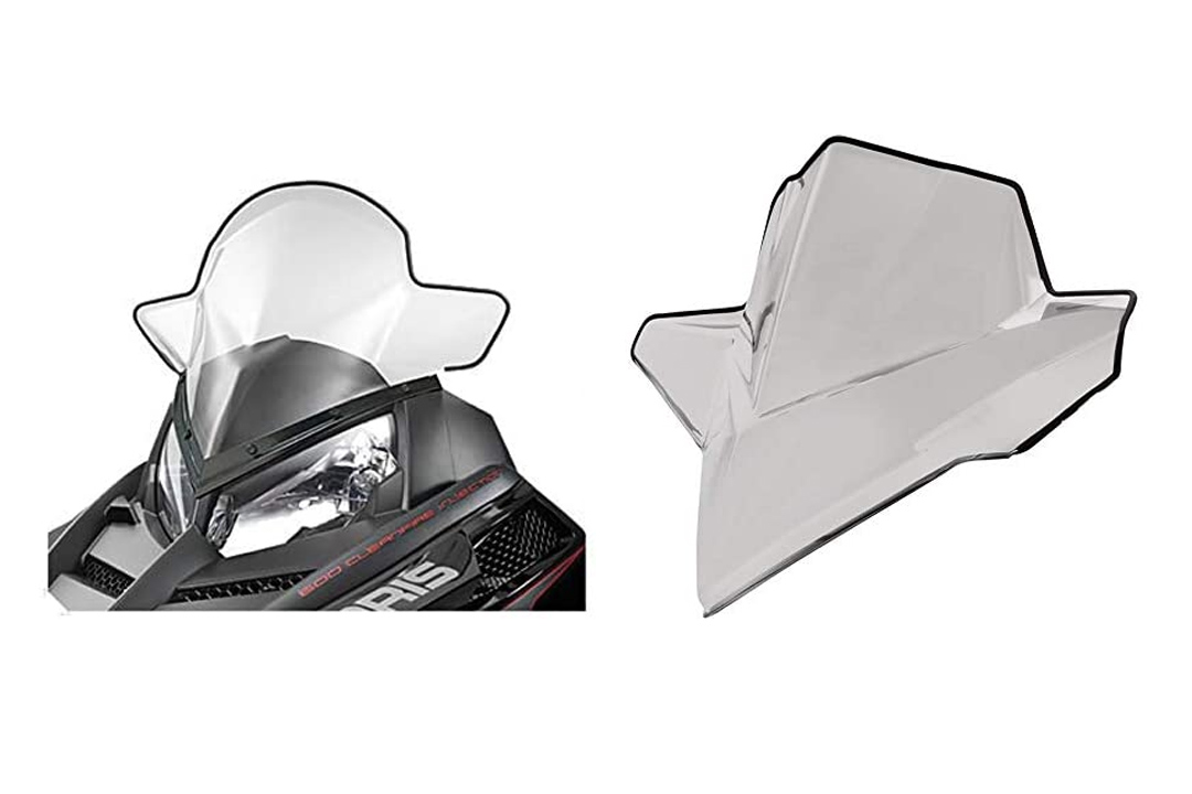 Polaris Snowmobile RUSH Mid Windshield. 2877841
