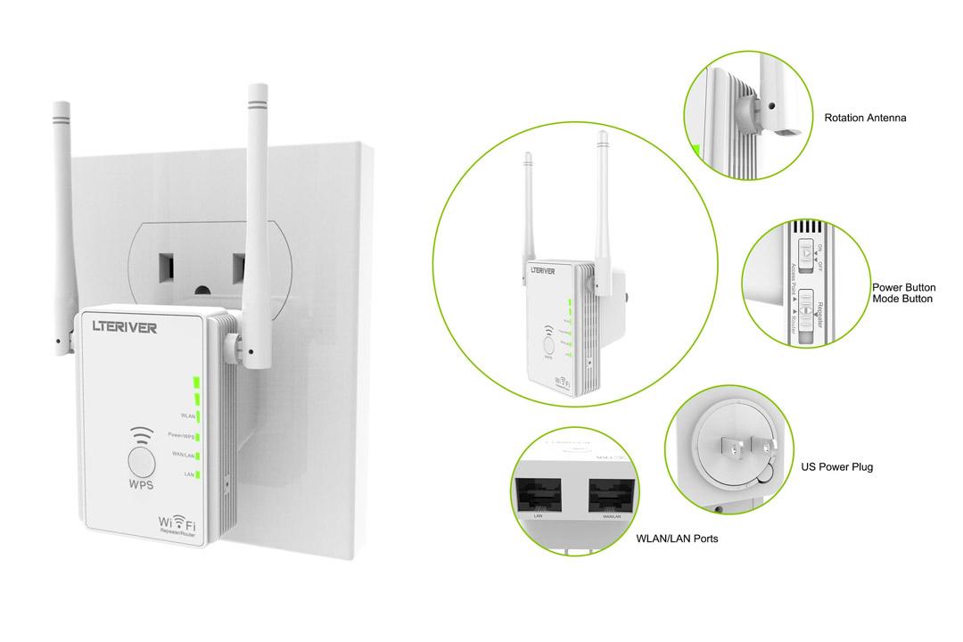 Repeater WiFi Range Extender