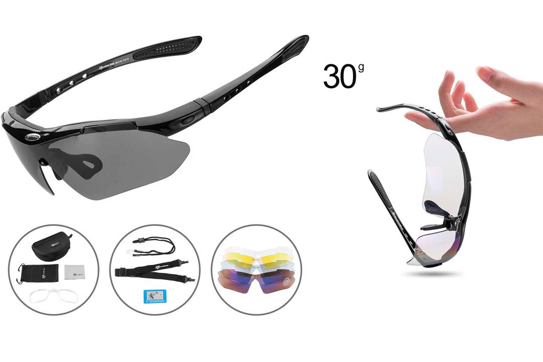 RockBros Polarized Cycling Glasses Sports Glasses Sunglasses Goggles
