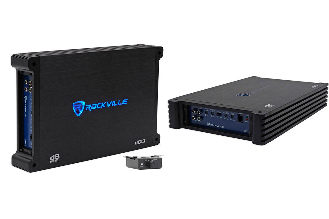 Rockville dB13 3000 Watt Peak/750w CEA rated RMS Mono 2 Ohm Amplifier Car