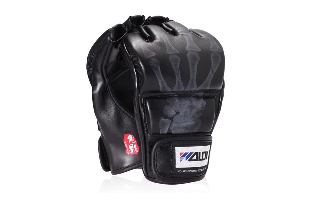 Ship from LA- SKL Half Finger Boxing/Sanda Fighting Sandbag Gloves