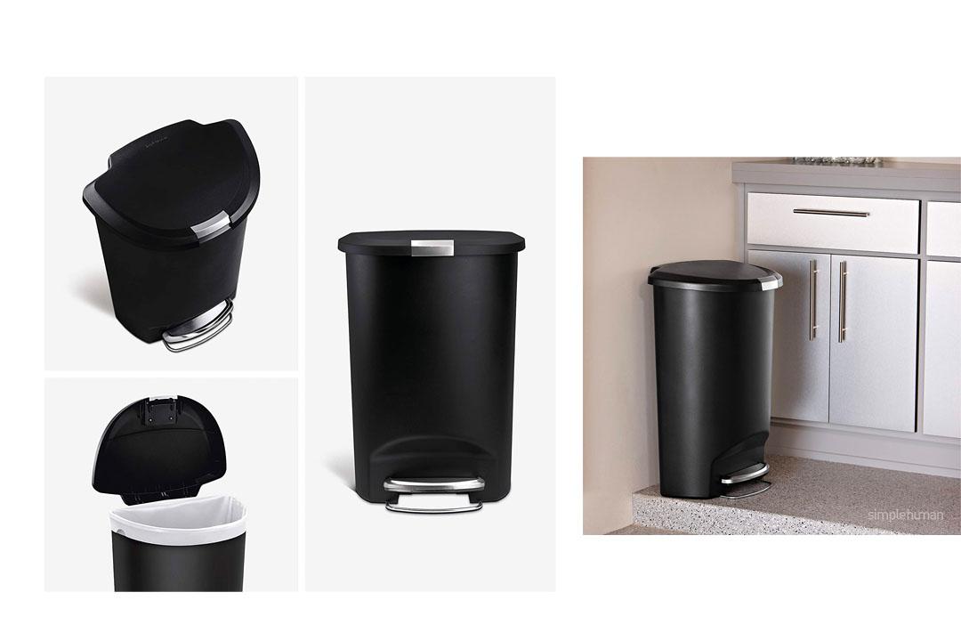Simplehuman Semi-Round Step Trash Can