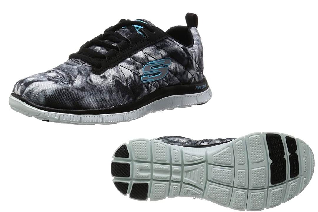 Sport Women's Pretty Please Flex Appeal Fashion Sneaker (Skechers)