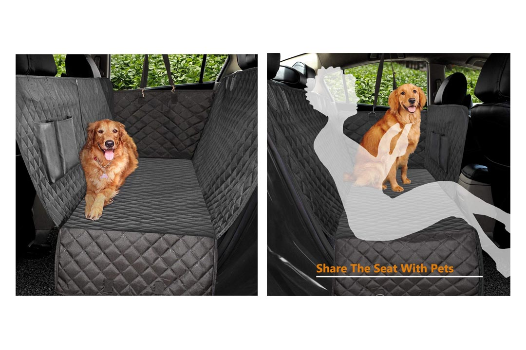 Vailge 100% Waterproof Dog Car Seat Covers