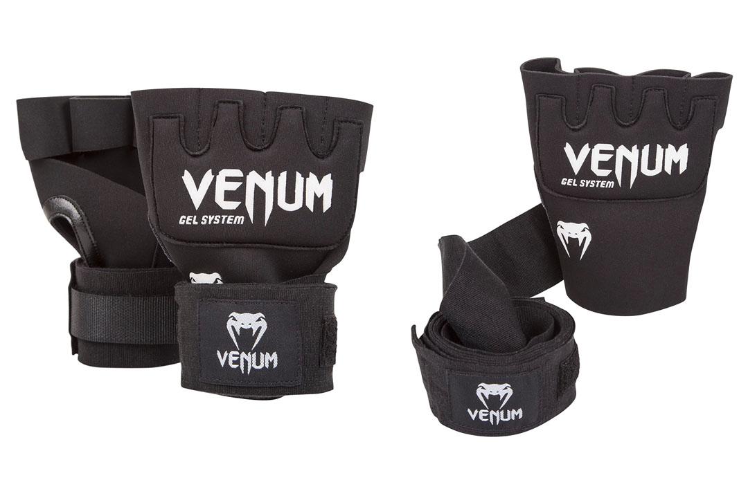 "Venum ""Kontact"" Gel Glove Wraps, Black"