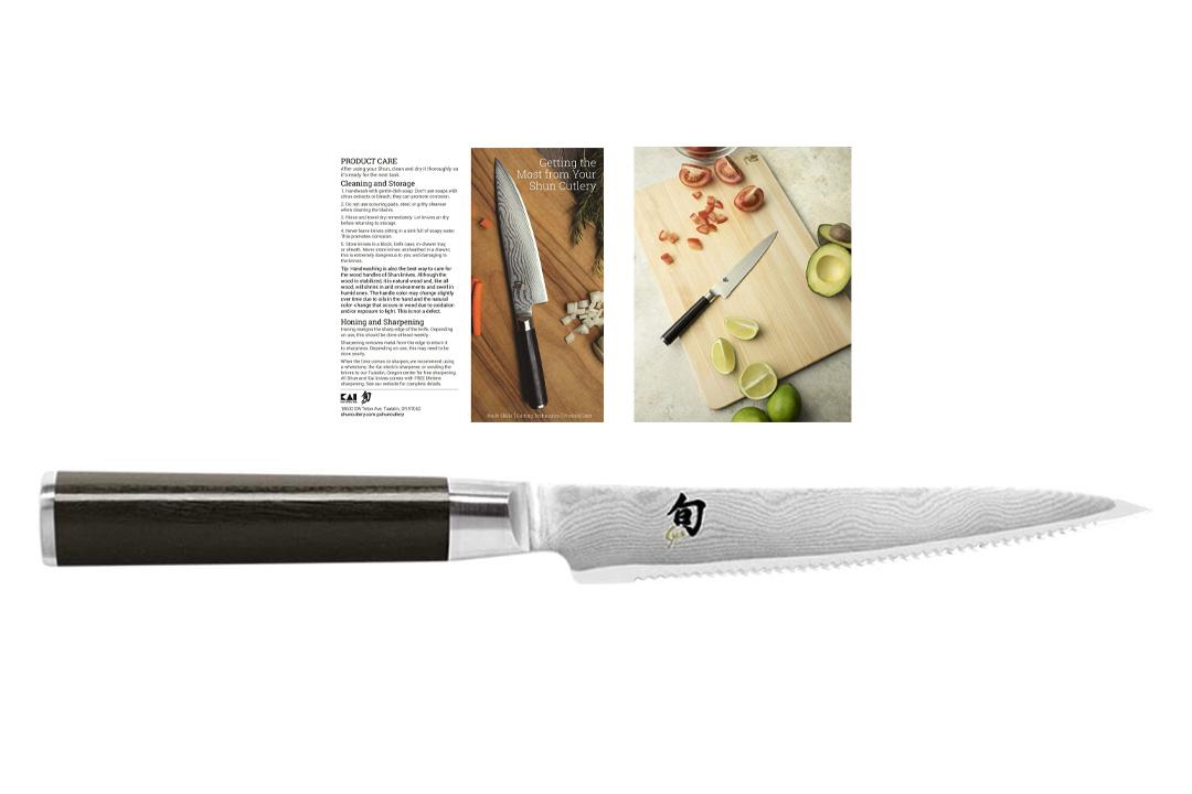 6-Inch Serrated Utility Knife
