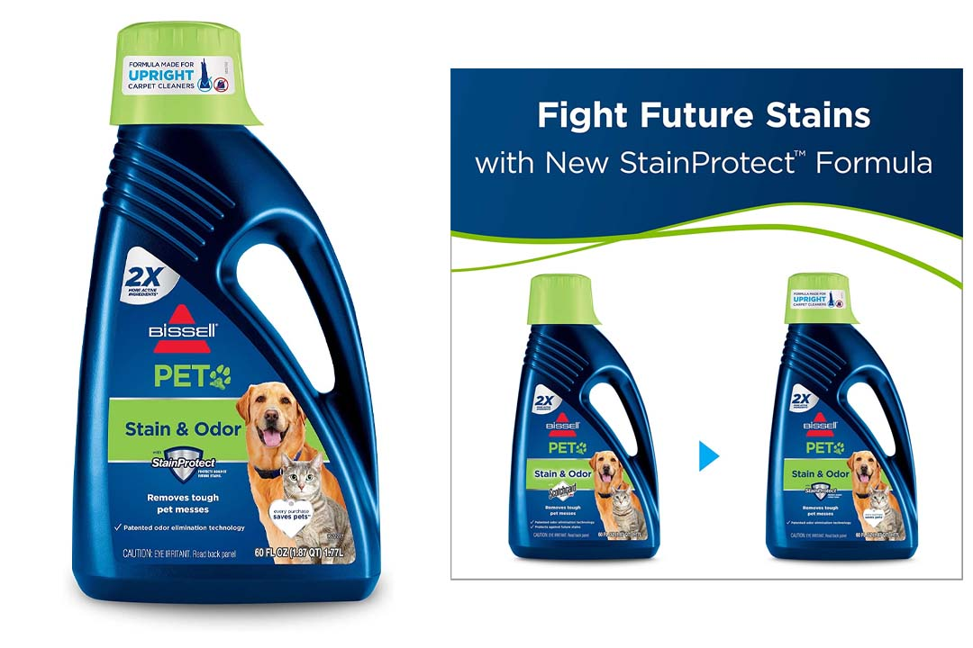 BISSELL 2X Pet Stain & Odor Remover