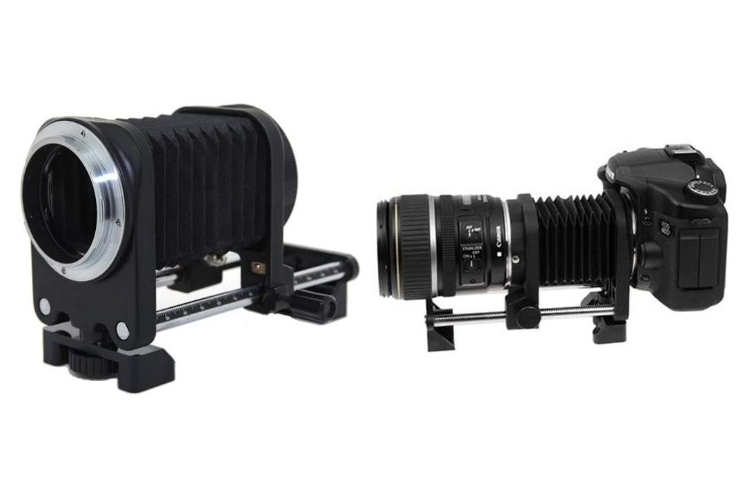 CowboyStudio One Way Macro Focusing Rail Slider Macro Bellows for Canon EOS Cameras
