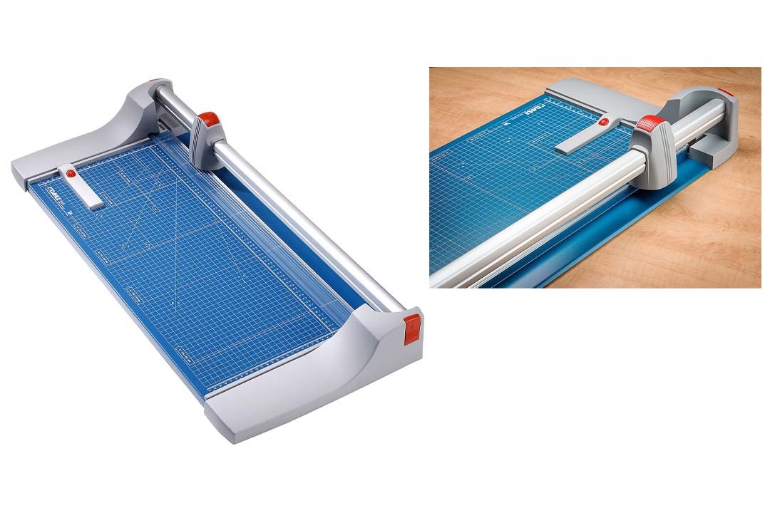 Dahle 444 Premium Rolling Trimmer, Grade: 12 to 12, 4'' Height, 15.125'' Width, 34.25'' Length