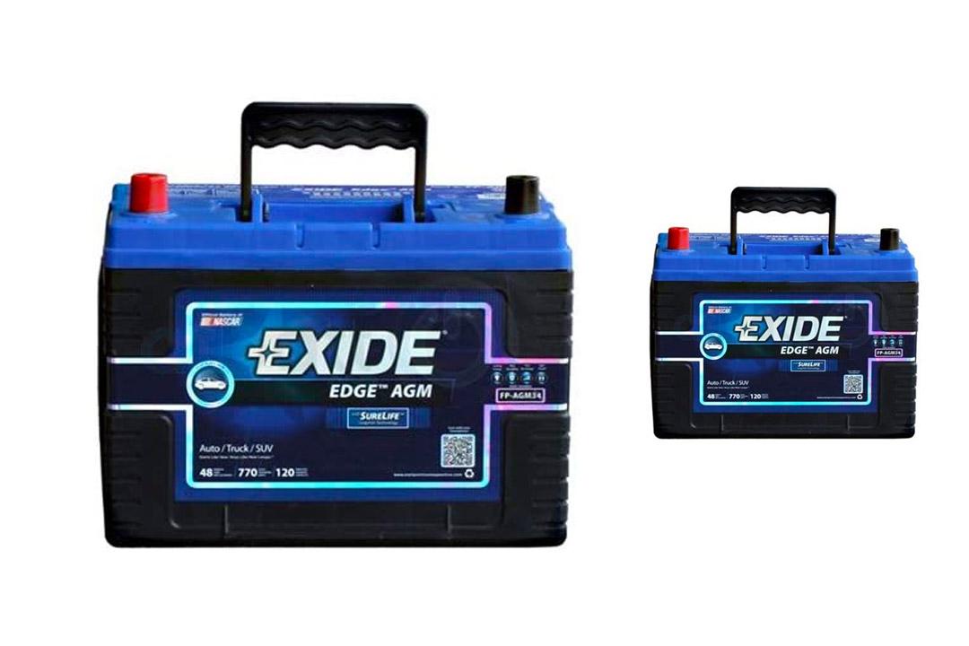 Exide Edge sealed automotive battery