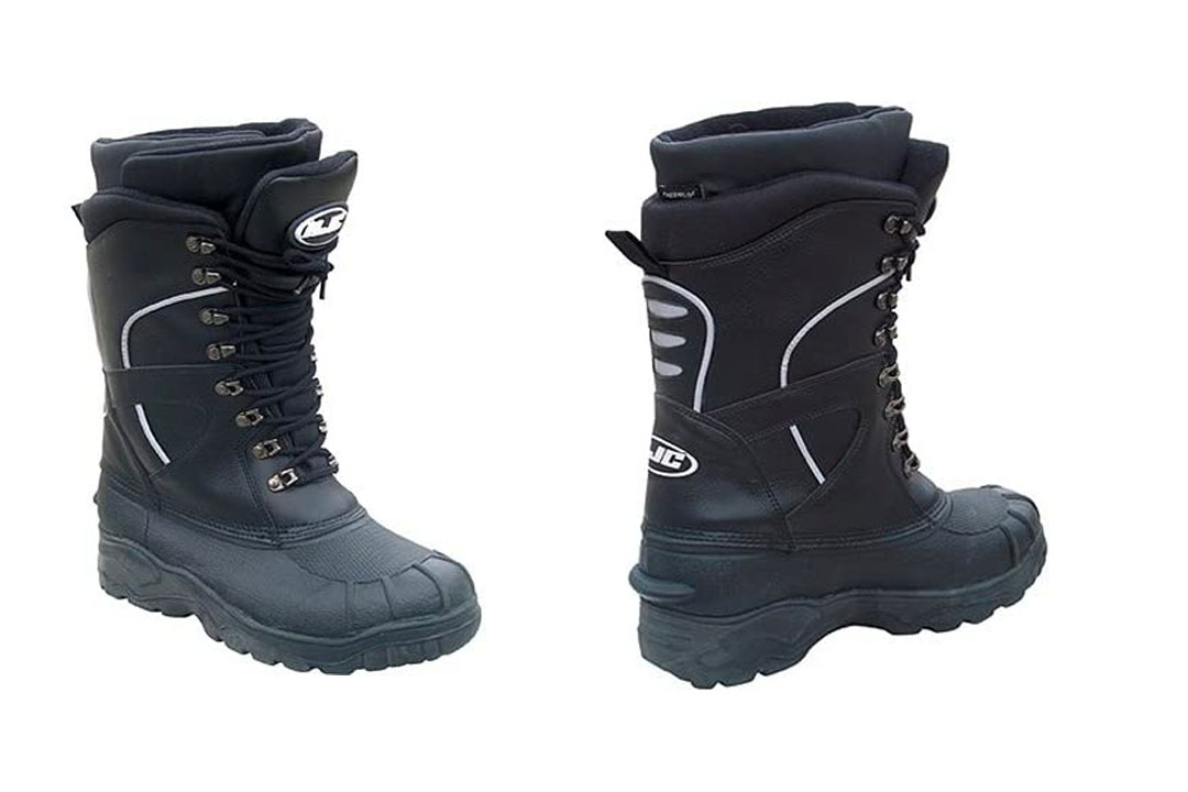 HJC Extreme Men's Leather Snocross Snowmobile Boots