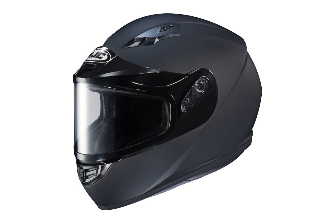 HJC Helmets CS-R3SN Unisex-Adult Full Face Snow Helmet with Framed Dual Lens Shield