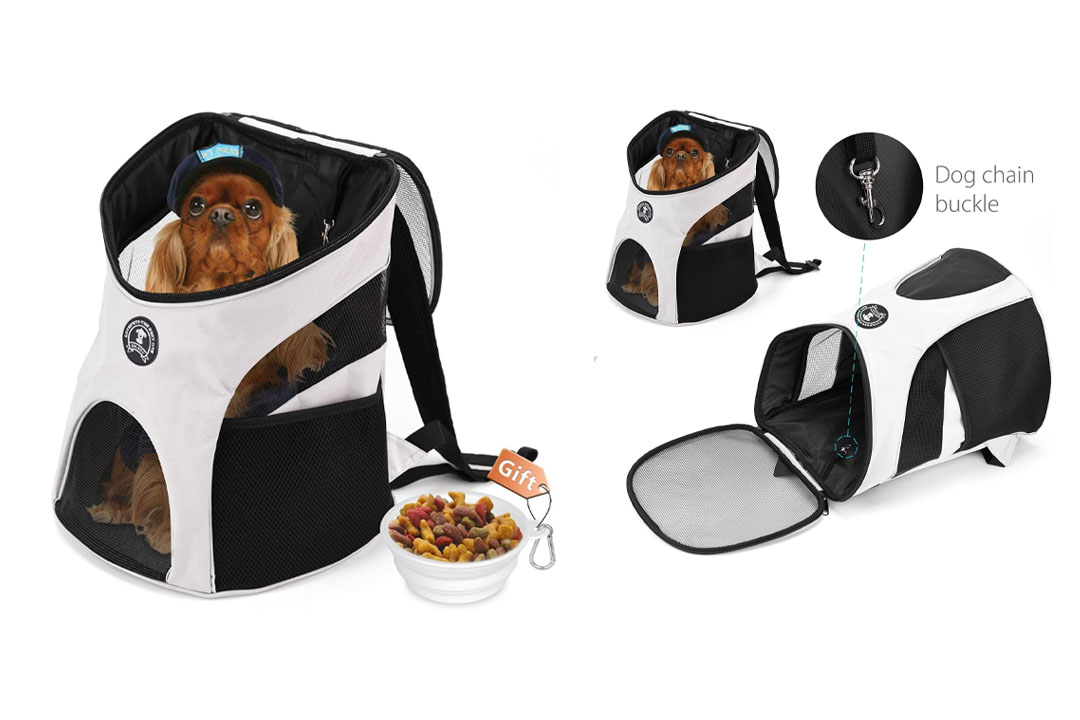 Hokonui Pet Dog Backpack Shoulder Puppy Pack Outdoor Travel Carrier