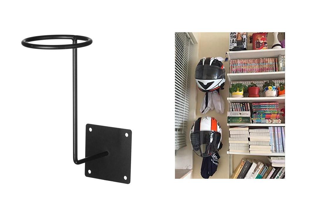 ILM Motorcycle Accessories Helmet Hanger Rack Jacket Hook