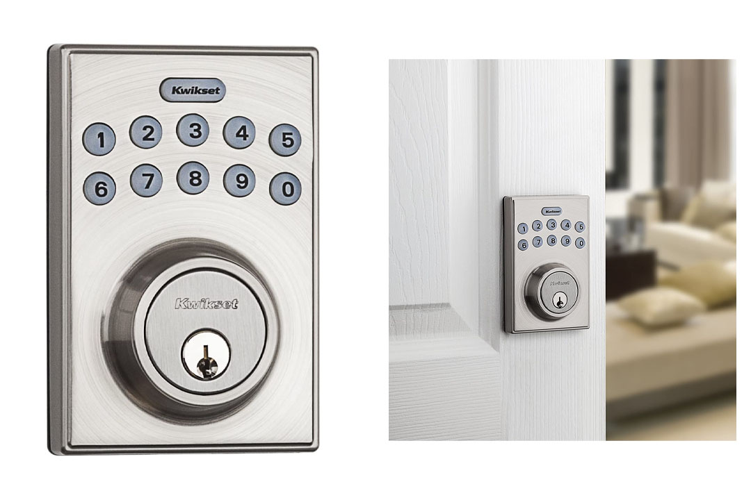 Kwikset 92640-001 Contemporary Electronic Keypad