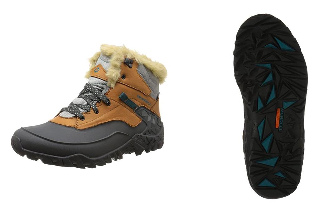 Merrell Women's Fluorescein Shell 6 Waterproof Winter Boot