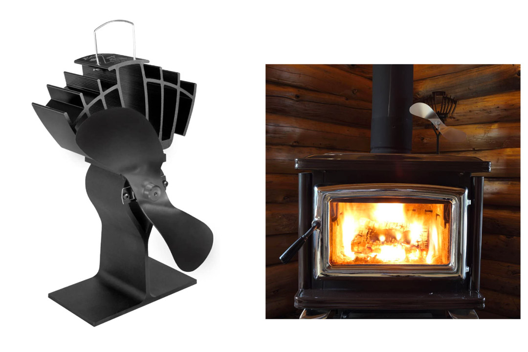 Midwest Hearth Eco Fans for Wood Stoves | Heat Powered Ecofan