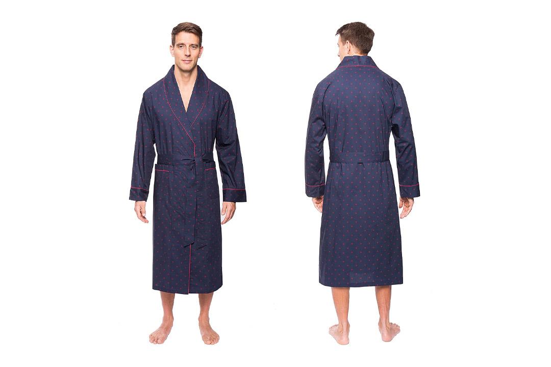 Noble Mount Mens Premium 100% Cotton Robe