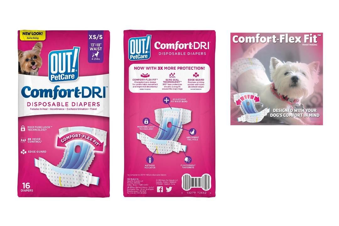 OUT! Disposable Dog Diapers