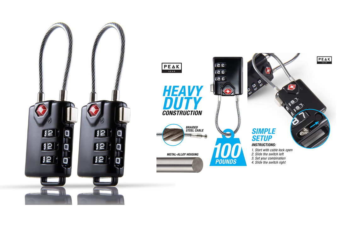 4 Digit Combination TSA Luggage Locks