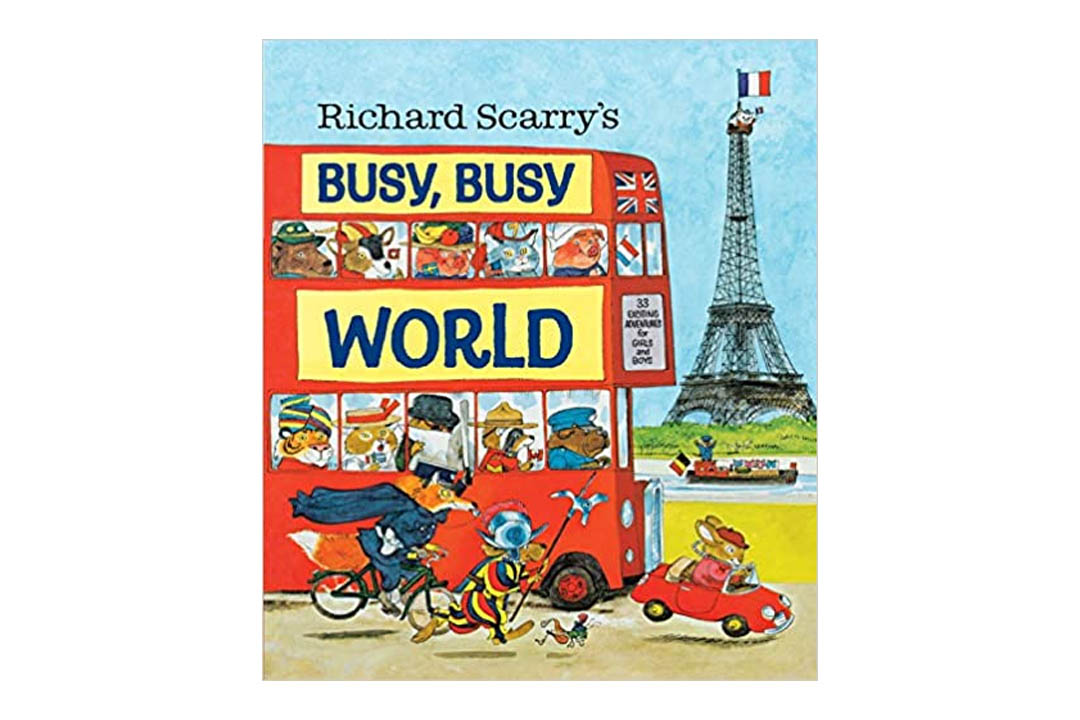 Richard Scarry's Busy, Busy World by Richard Scarry (Author, Illustrator)
