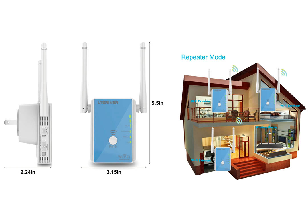 Signal Booster WiFi Range Extender