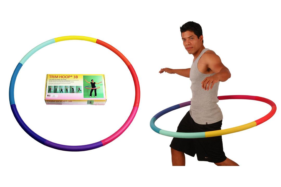Sports Hoop – Trim Hoop 3B 3.1lb Large, Weighted Hula Hoop
