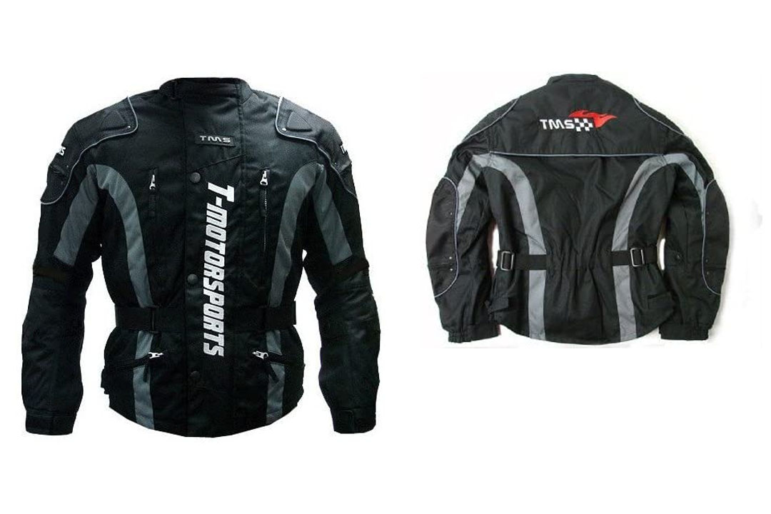 TMS Enduro Armor Jacket Motorcycle Touring Dual Sport Dirt Bike ATV