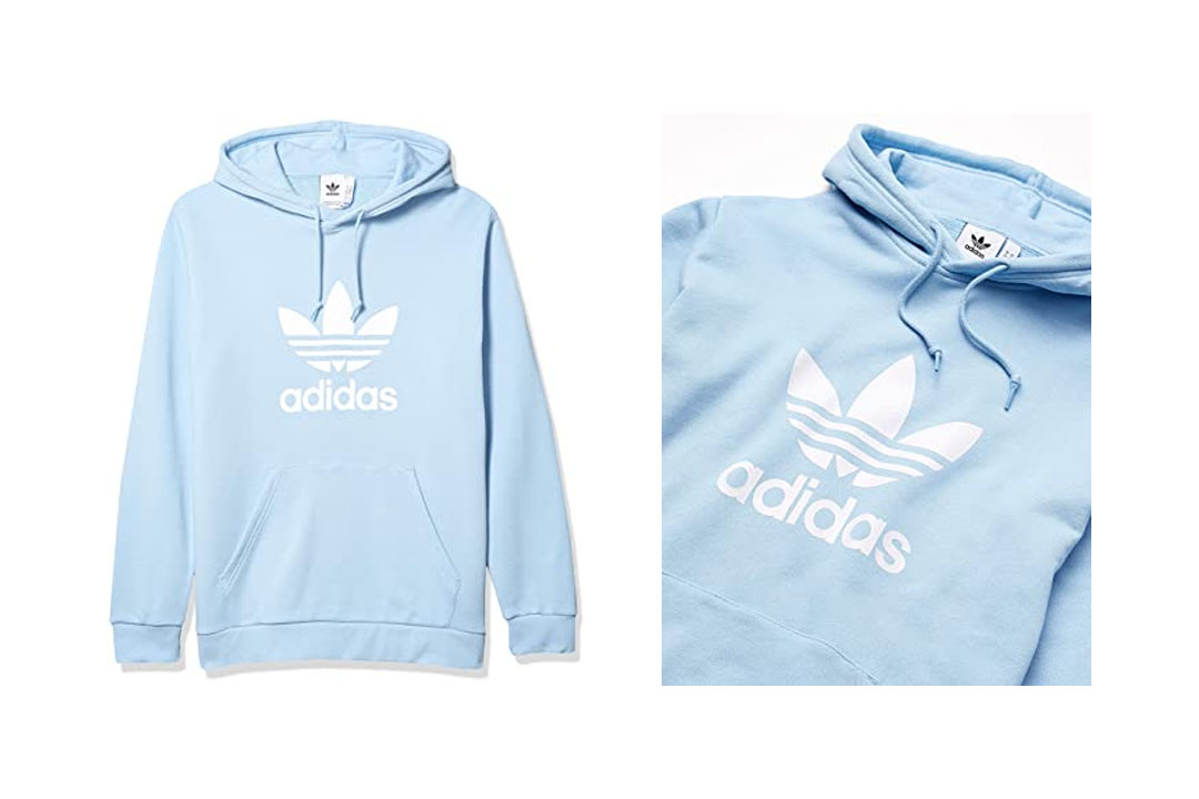 The Adidas Originals Men's Trefoil Hoodie