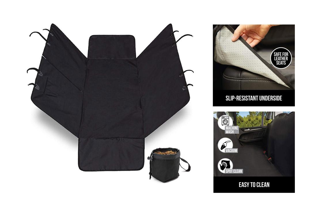 The Original GORILLA GRIP (TM) Non-Slip Pet Car Seat Protector for Pets