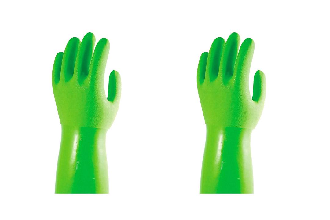 True Blues Green Ultimate Household Gloves