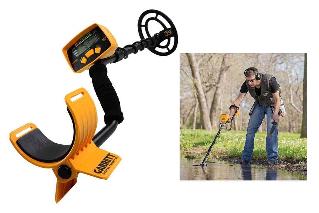 Waterproof Garrett Metal Detector