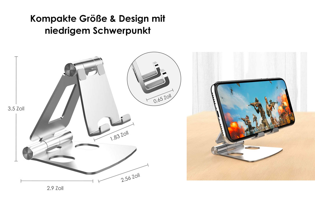 licheers Foldable Phone Stand for Desk