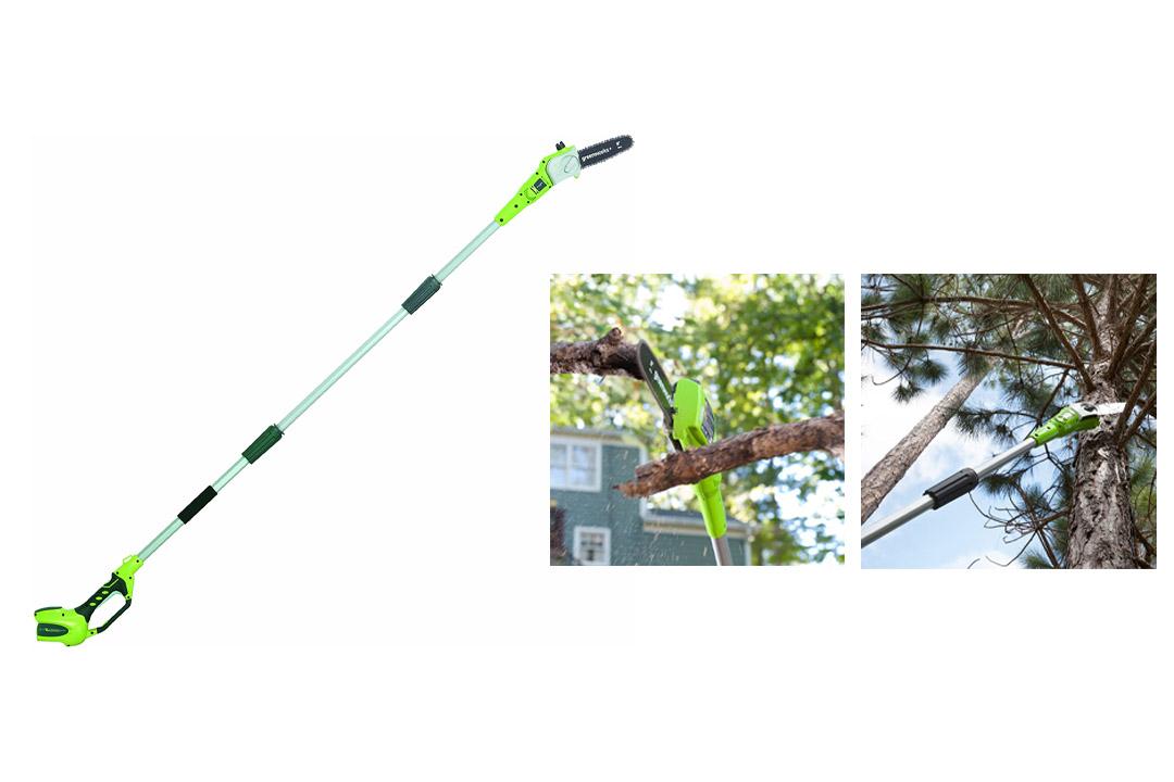 8-Inch Cordless Pole Saw