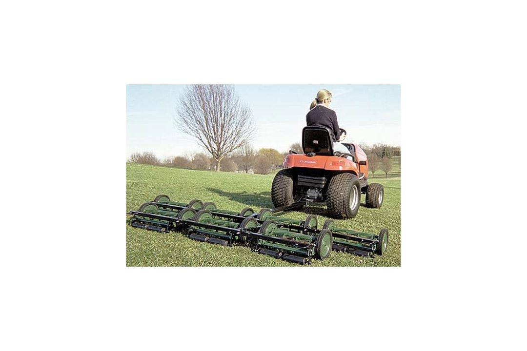 American Lawn Mower 5 Gang Reel Mowing System