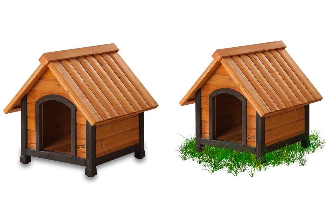 Arf Frame Dog House with Dark Frame