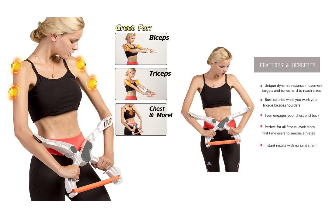 Arm Machine Workout Resistance Training Device Forearm Wrist Exerciser