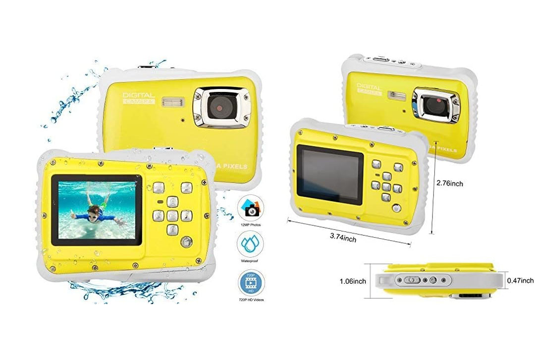 BYbrutek Kids Camera