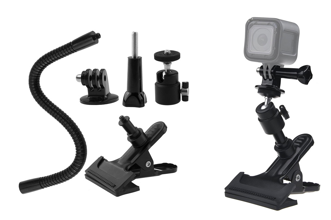 Ball and Socket Clamp Mount for Gopro Hero 4