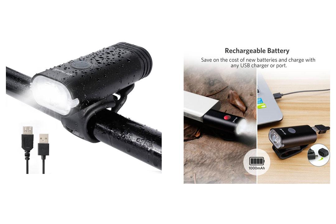 Bike Light ThorFire Super Bright Bike Headlight USB Rechargeable Bicycle Headlamp Headlight