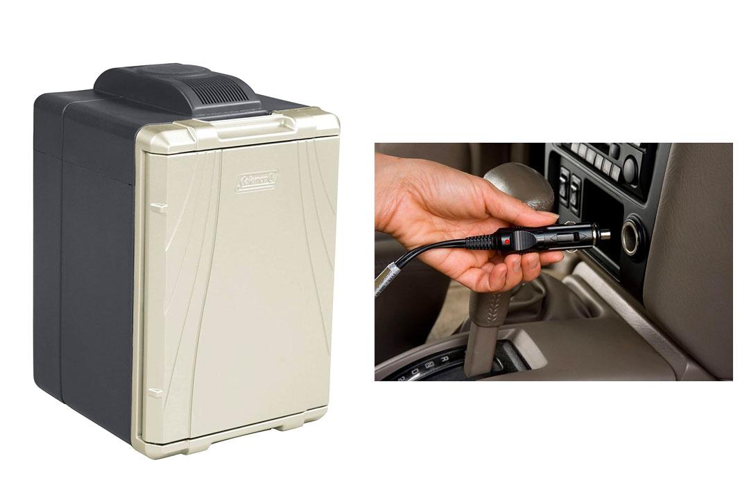 Coleman 40 quart Powerchill with car adapter