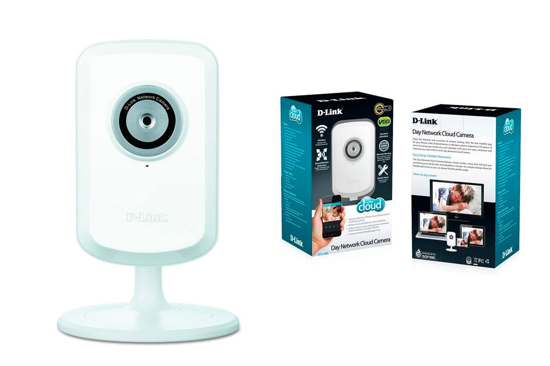 D-Link DCS-930 myDlink-Enabled Wireless-N Network Camera