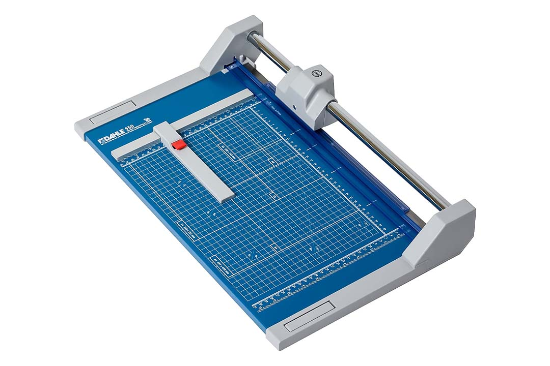 "Dahle 550 Professional Rolling Trimmer, Up to 20 Sheet, 14"" - 51"" Cut Length"