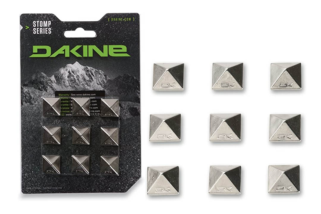Dakine Pyramid Studs Stomp Pad, Chrome