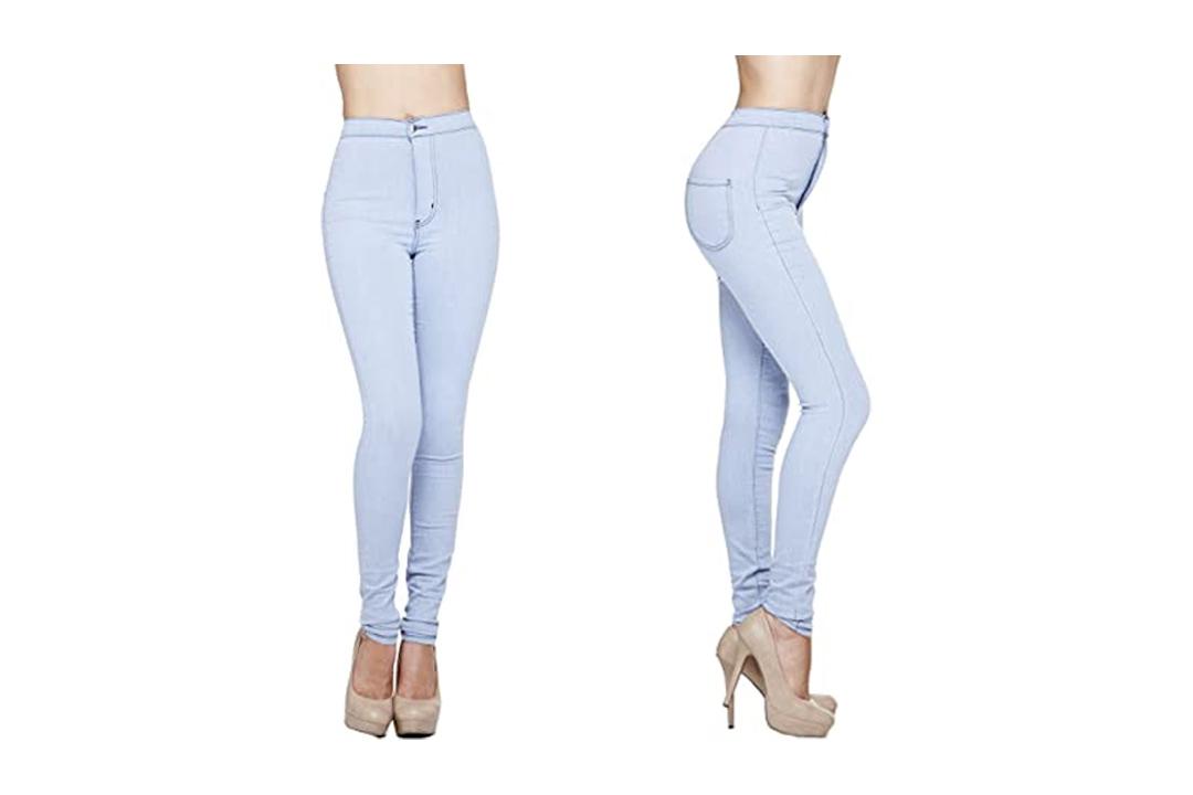 GOJANE Women's High-Waisted Ankle Length Jeans