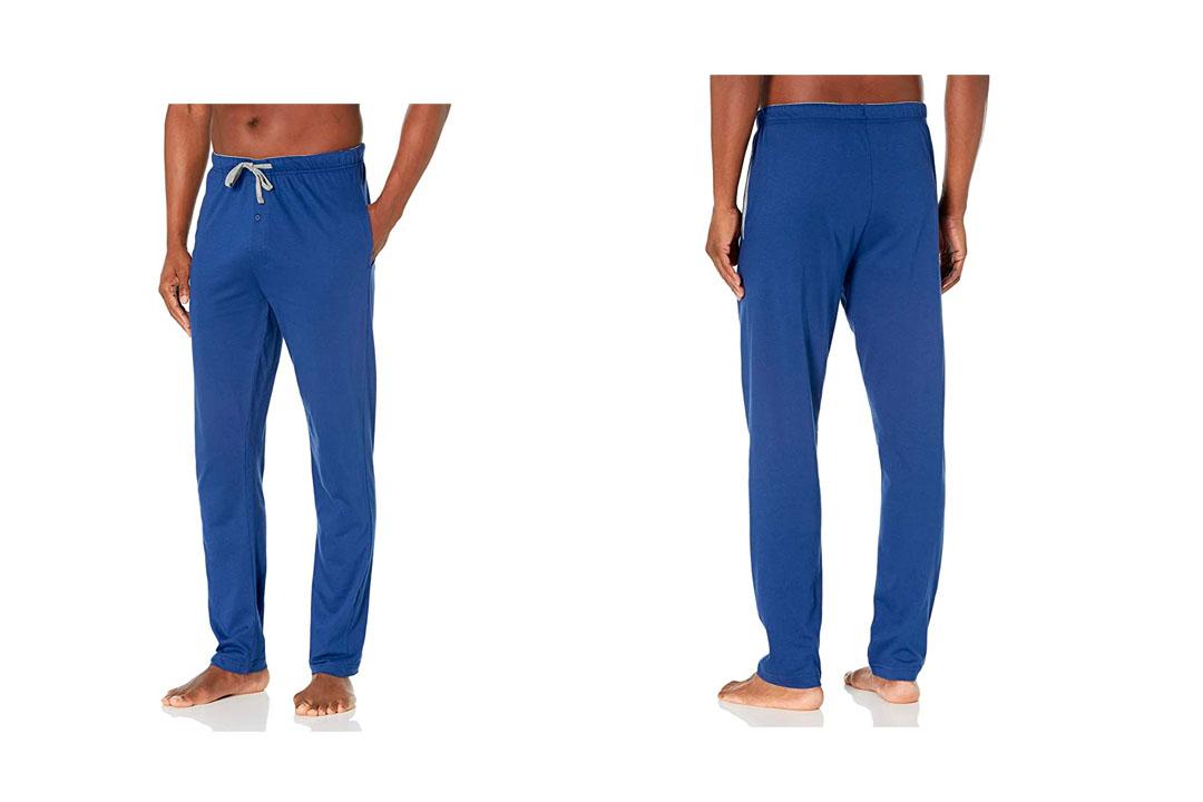 Hanes Men's ComfortSoft Jersey Cotton Lounge Pants Black S Hanes Men's