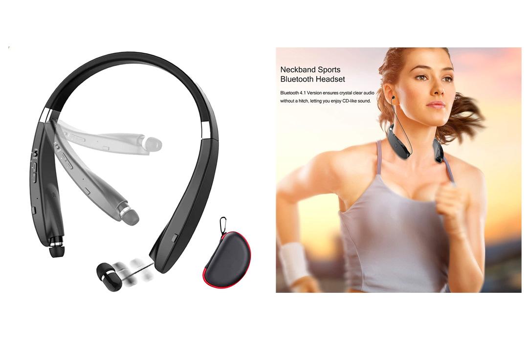 Headset Wireless Sweatproof Bluetooth COULAX headphones