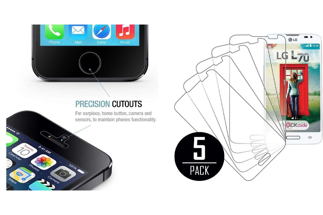 LG Optimus L70 Screen Protector Cover